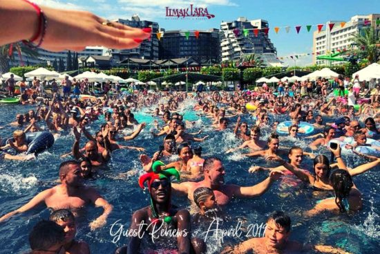 Limak Lara Reviews - April 2019 - Pool Party