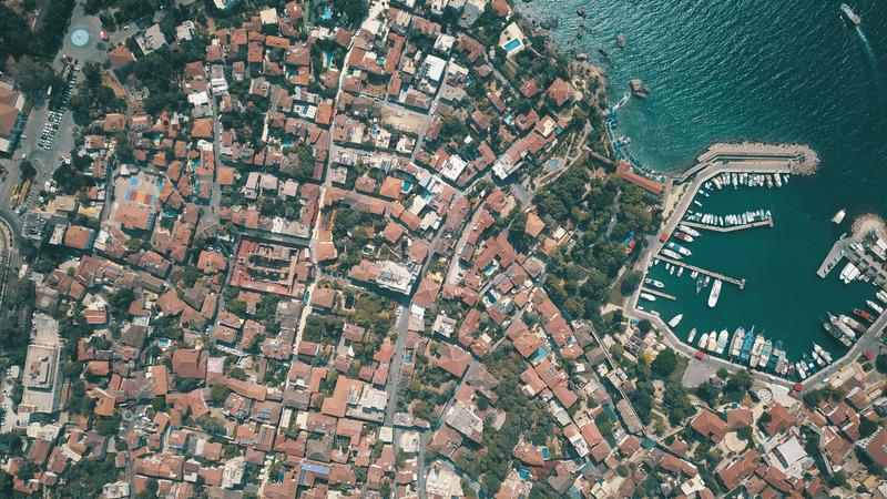 Antalya kaleiçi drone çekimi