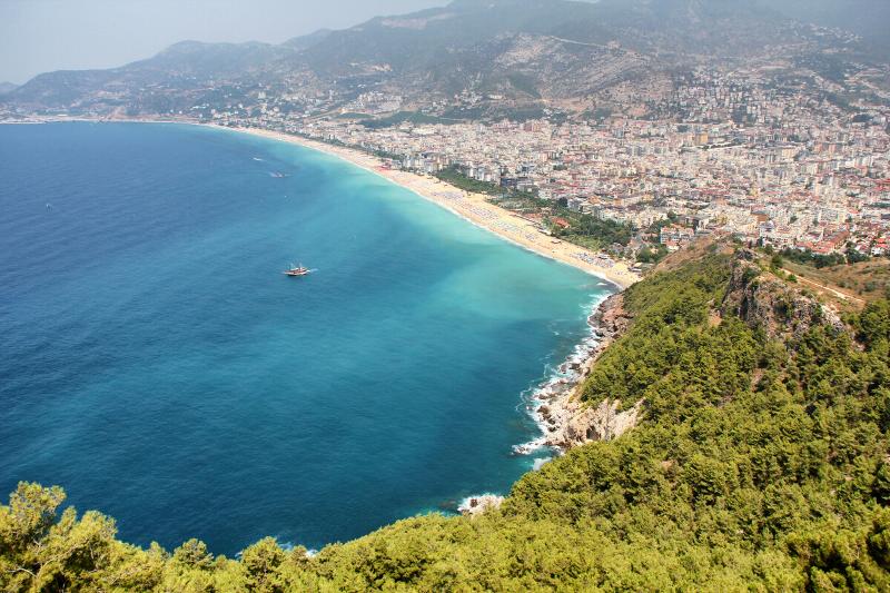Kleopatra Plajı Antalyanın en iyi plajları