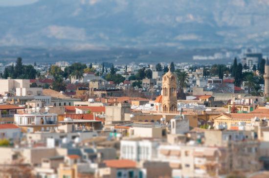 Nicosia Manzarası - Lefkoşa'da Gezilecek Yerler