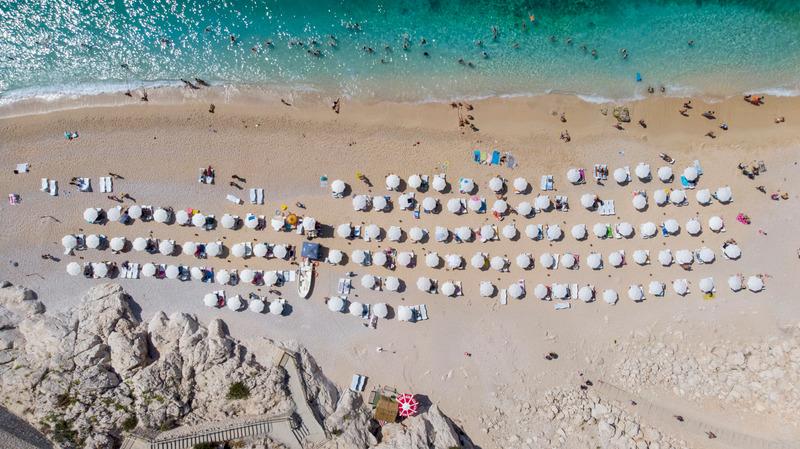 Kaputaş Plajı Antalyanın en iyi plajları