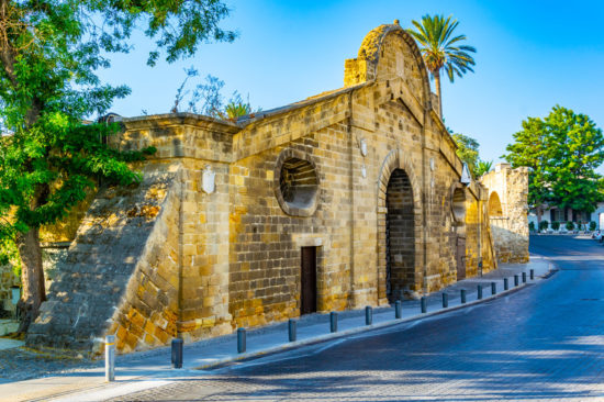 Famagusta gate at Nicosia, Cyprus