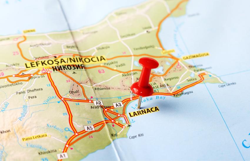 Larnaca, Cyprus Maps